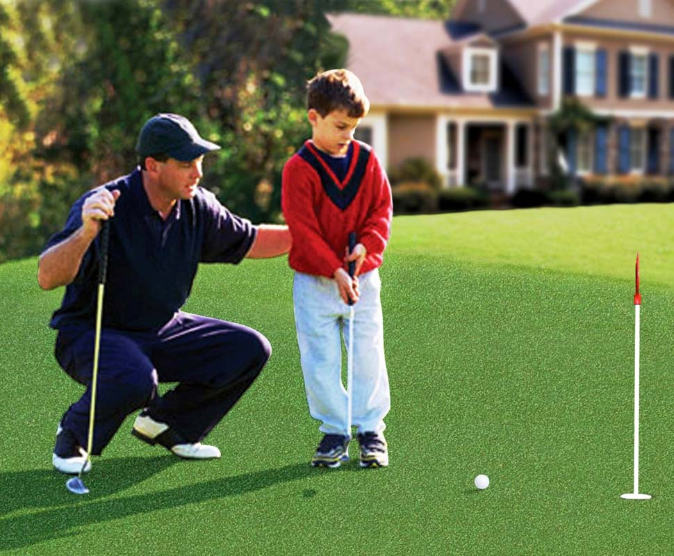 StarPro Green Artificial Grass is Ideal for Golf!