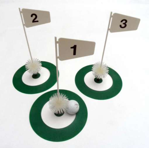 3 Practice Golf Putting Cups