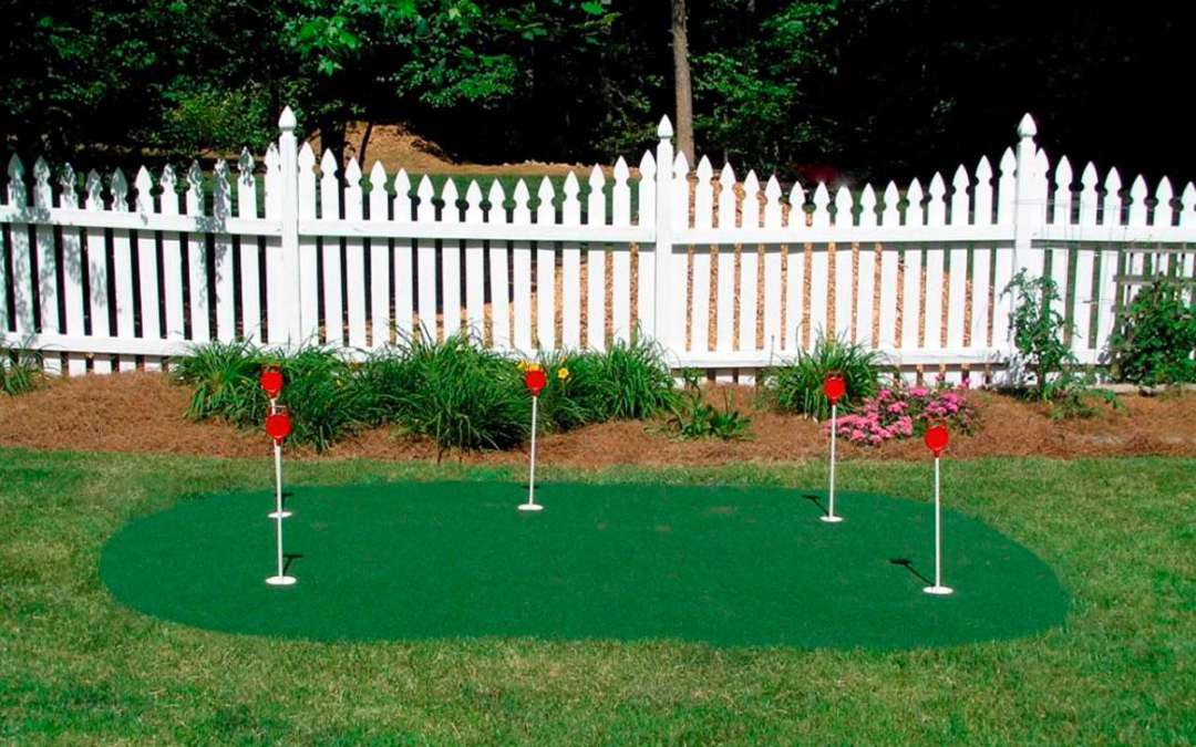 Backyard Putting Green Installation