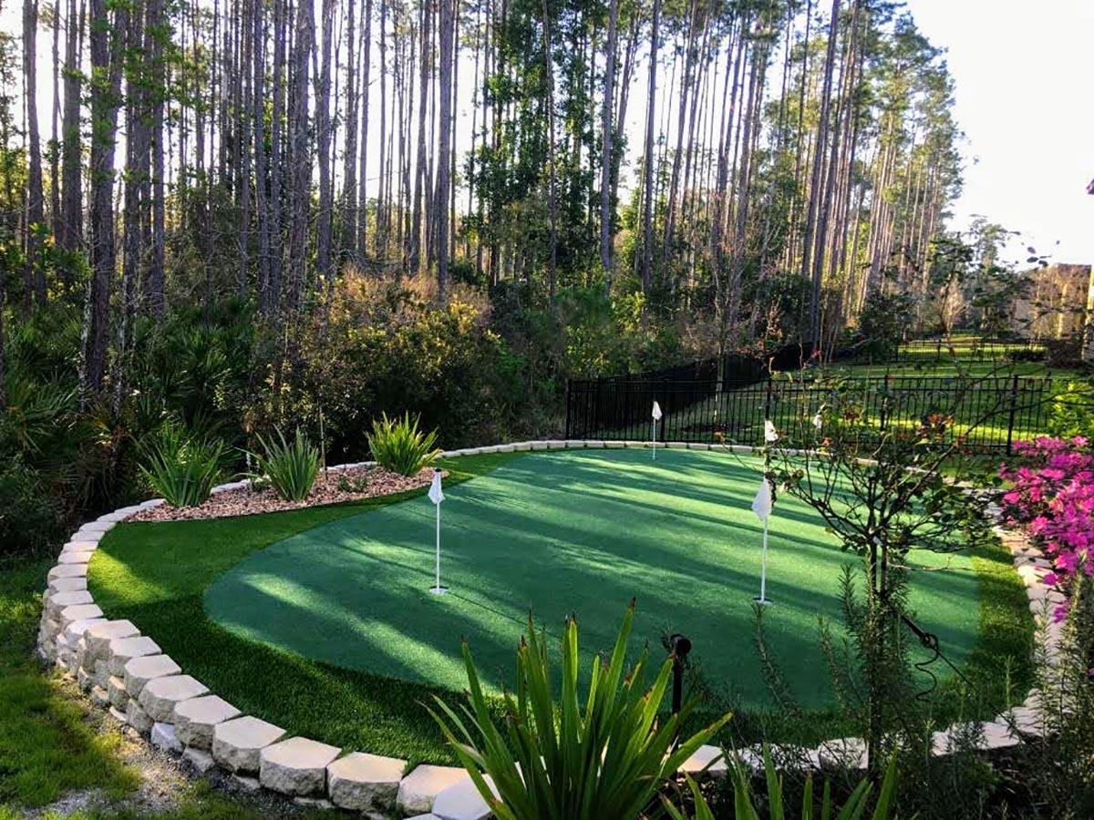 Backyard Or Indoor Putting Green, Putting Green In Garden Cost