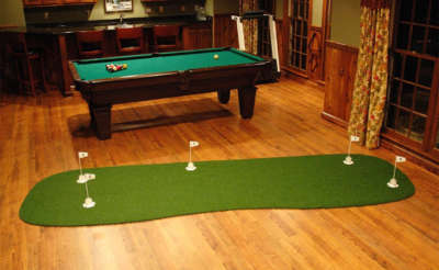 PA 10x3 Pro-Am Backyard Indoor Putting Green