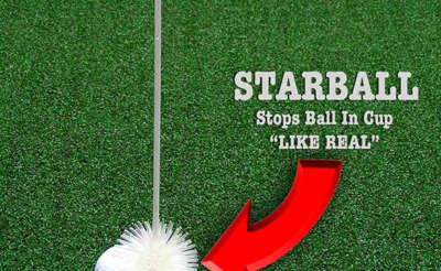 Starball Stops Ball In Cup