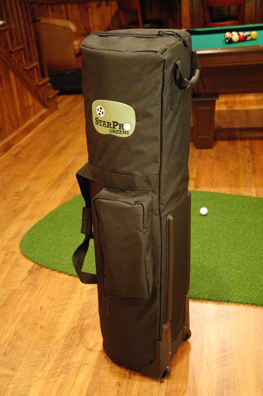 TB12X44 Rolling Case for 4 ft Wide Greens